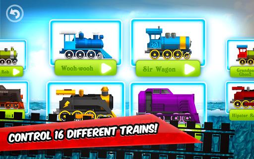 Fun Kids Train Racing Games  screenshots 1