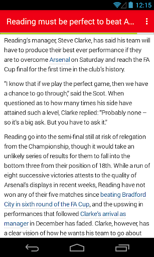 玩免費新聞APP|下載BIG Arsenal Football ニュース app不用錢|硬是要APP