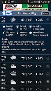 WANE WX screenshot 2