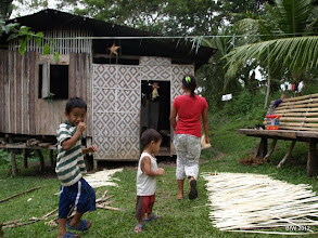 Photo: Typical home in Baclayon