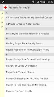 Prayers for Health - náhled
