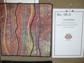 """Photo: Fran Walthall""""Stitch and Thread Exercise"""""""