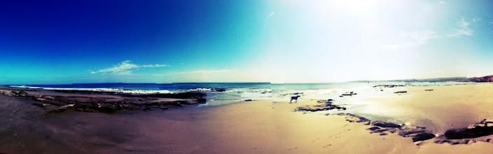 Photo: Panorama, Los Organos beach.