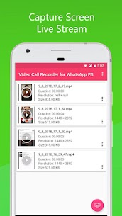 Video Call Recorder for WhatsApp FB App Download For Android 2