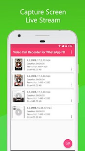 Video Call Recorder for WhatsApp FB Screenshot