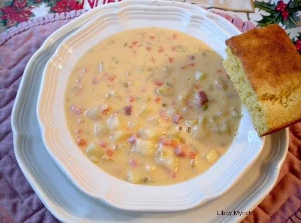 Cheddar & Ham Chowder Recipe