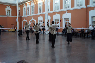 """Photo: """"Гранд Ассо 2011"""". Фестиваль классического фехтования в С.-Петербурге. Гранд салют, открывающий фестиваль."""