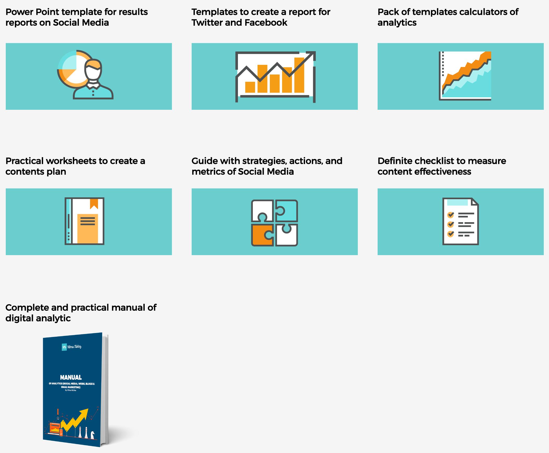 Social Media Pack - Social media analytics report template