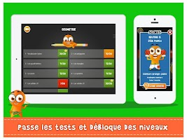 Screenshot of iTooch Mathématiques CM2