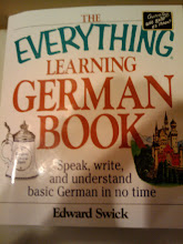 Photo: I really dig 'The Everything Learning German Book' outside of my course books