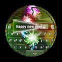 Happy new year GO Keyboard icon