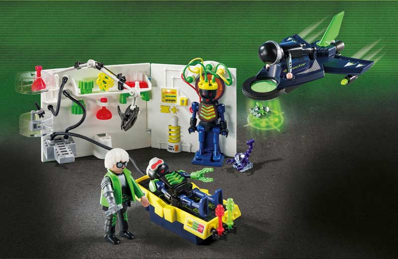 Contenido Real de Playmobil® 5086 Set Top Agents