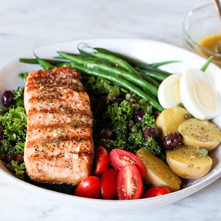 Salmon + Kale Niçoise.