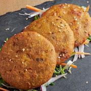Mixed Vegetables Aloo Tikki
