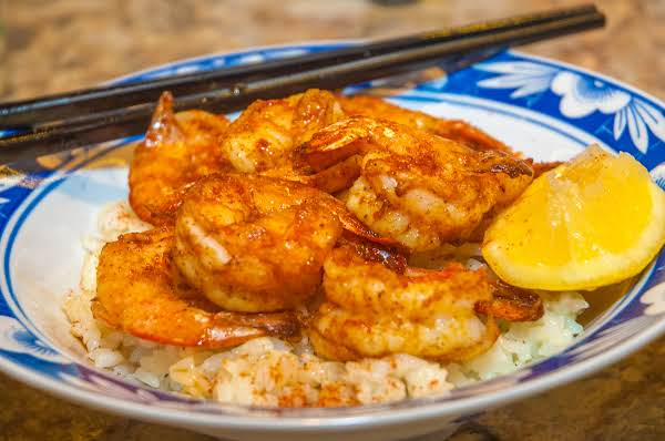Seafood Essentials: Air Fryer Spicy Shrimp On Rice Recipe