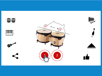 Bongo Cat Musical Instruments Screenshot