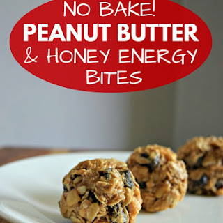 Easy No Bake Chocolate & Peanut Butter Bites