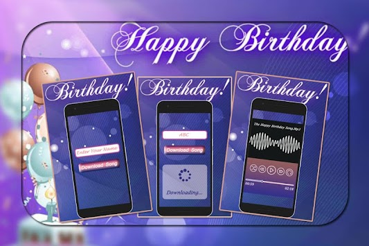 Happy Birthday Song with Name:Birthday Song Wishes APK Latest