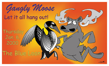 Photo: Gangly Moose poster