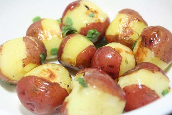 New Potatoes With Parsley-chive Sauce Recipe