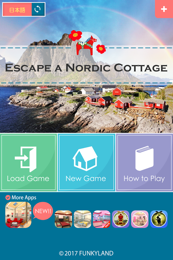 Escape a Nordic Cottage- screenshot
