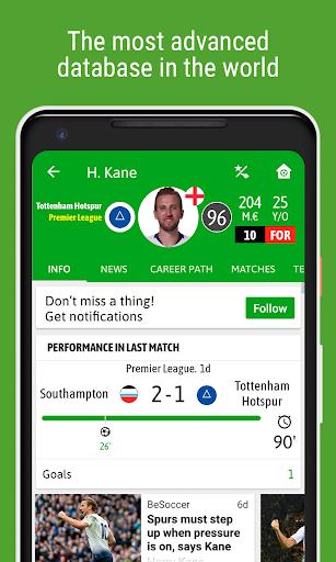 BeSoccer - Soccer Live Score screenshot 7