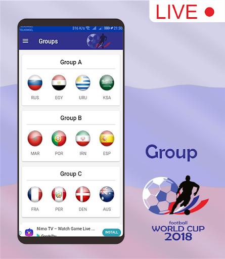 Score & Schedule : World Cup 2018 1.5 screenshots 2
