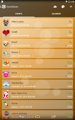 Countdown Widget screenshot 9