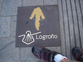 Photo: Indicaciones del Camino de Santiago