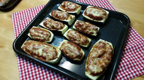 Rockabilly Housewife's Stuffed Zucchini Boats Recipe