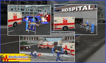 Ambulance Rescue Driver 2017 - screenshot thumbnail 02