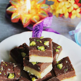 Chocolate Burfi Recipe | Chocolate Barfi Recipe | Burfi