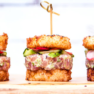 The Sushi Burger.