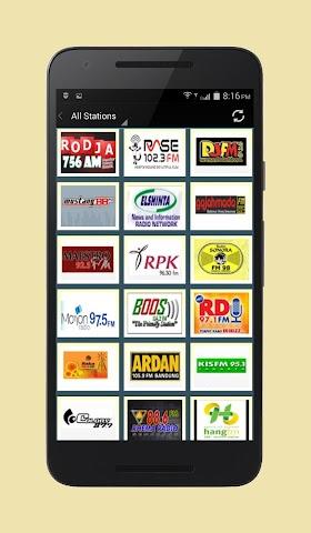 android Radio Indonesia Screenshot 1