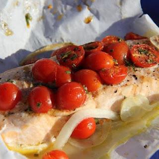 Simple Recipe for Tasty Salmon in the Oven. Recipe