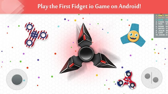 Fidget Spinner .io Game MOD Apk 111.0 (Unlimited Coins) 1