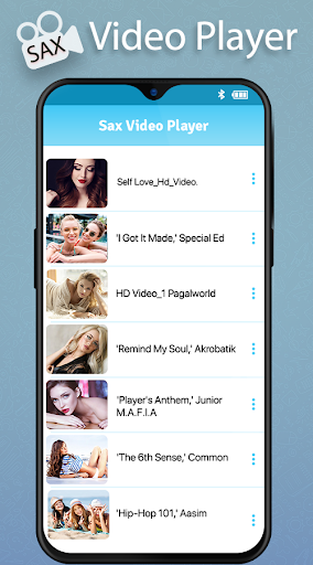 SAX Video Player screenshot 1