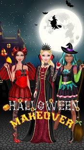 Halloween Salon - Girls Game - náhled