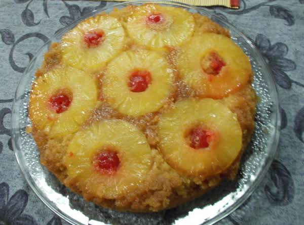 I Made This And Used The Entire Batter Recipe For Only A Nine Inch Round. I Feel Like If It Were In A 13x9 It Wouldn't Be Enough Batter To Cover The Fruit And Fill The Pan Sufficiently. Doh! I Just Read The Recipe Again And Realized It Says 9x9. Oops!