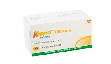 Keppra 1000Mg Tabletas   Caja x30Tab. GSK Levetiracetam -Rg$-