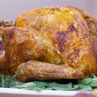 Martha Stewart's Upside-Down Turkey