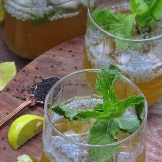 Gol Paani {Jaggery Water Drink}.