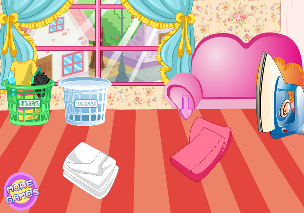 Game Laundry Machine- screenshot