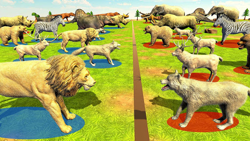 Wild Animals Kingdom Battle Simulator 2018