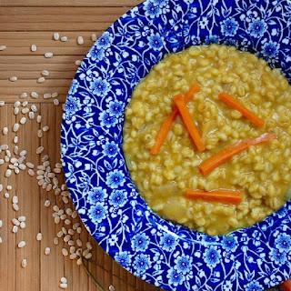 Persian Barley Soup (Soup-e Jo or Ash-e Jo)