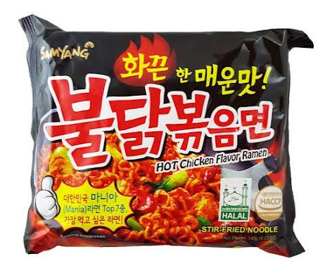 Hot Chicken Ramen Spicy 140g Samyang