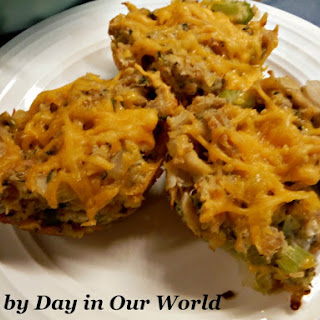 Tuna Melt Muffins Recipe