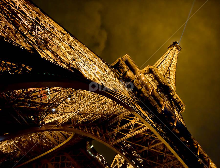 The Eiffel Tower by Victor Harris - Travel Locations Landmarks ( pwclandmarks,  )