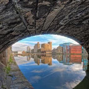 Dublin dock lands by Paul Holmes - City,  Street & Park  Vistas ( ireland, sigma 10-20, dublin, nikon )