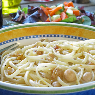 Pasta with Chick Peas - Pasta E Ceci